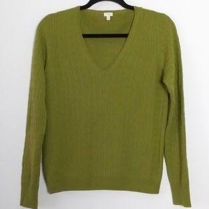 J Crew V Neck  Sweater size M